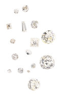 Estate Jewelry:Unmounted Diamonds, Unmounted Diamonds. ... (Total: 0 Items)