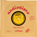 "Music Memorabilia:Recordings, Elvis Presley Rare Acetates from ""Girls! Girls! Girls!"" (1962)..... (Total: 10 )"