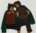 Animation Art:Production Cel, The Lord of the Rings Sam and Frodo Production Cel (RalphBakshi, 1978). ...