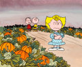 Animation Art:Production Drawing, It's the Great Pumpkin, Charlie Brown Book Illustration(Bill Melendez, 1978)....