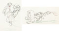 Animation Art:Production Drawing, Tugboat Mickey Animation Drawings Group of 3 (Walt Disney,1940).... (Total: 3 )