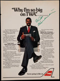 Basketball Collectibles:Others, Wilt Chamberlain Signed Photograph. ...