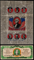Non-Sport Cards:Other, 1940's R177, R125, R118 and Wrappers Collection (5). ...