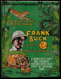"Non-Sport Cards:Other, Scarce 1938 R55 Gumakers ""Frank Buck"" 1-Cent Wrapper. ..."