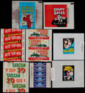Non-Sport Cards:Other, 1950's - 1970's Non-Sports Wrappers Collection (14) - With TestWrappers. ...