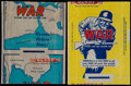 "Non-Sport Cards:Other, 1941-42 R164 Gum Inc., ""War Gum"" Wrappers Pair (2 Different). ..."