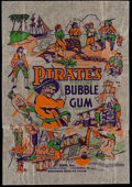 "Non-Sport Cards:Other, 1930's R109 Gum Inc. ""Pirate's Picture Bubble Gum"" Wrapper. ..."