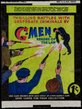 "Non-Sport Cards:Other, 1936 R60 Gum Inc. ""G-Men & Heroes of The Law"" 1-Cent Wrapper...."