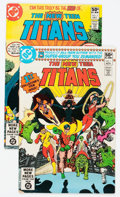 Modern Age (1980-Present):Superhero, New Teen Titans #1 and 2 Group (DC, 1980).... (Total: 2 ComicBooks)