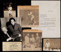 Miscellaneous Collectibles:General, Althea Gibson Collection of Newspaper Articles, Letters, Etc(25+)....