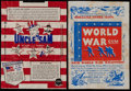 "Non-Sport Cards:Other, 1930's-40's Goudey ""World War Gum"" & Gum Inc. ""Uncle Sam""Wrappers Pairing (2). ..."