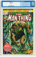 Bronze Age (1970-1979):Horror, Man-Thing #1 (Marvel, 1974) CGC NM 9.4 White pages....