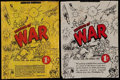 "Non-Sport Cards:Other, 1938 Gum Inc. ""Horrors of War"" 1-Cent Wrappers Pair (2). ..."