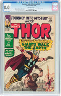 Silver Age (1956-1969):Superhero, Journey Into Mystery #104 (Marvel, 1964) CGC VF 8.0 Off-wh...