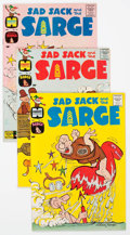 Silver Age (1956-1969):Humor, Sad Sack and the Sarge/Sad Sack's Funny Friends File Copies Group of 45 (Harvey, 1960s) Condition: Average NM-.... (Total: 45 Comic Books)