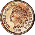 Proof Indian Cents: , 1872 1C --Altered Color--NCS. Proof. Sharply struck with most design features defined to full advantage. The satiny devices ...