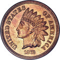 Proof Indian Cents: , 1872 1C PR66 Red and Brown NGC. A lovely Gem example having sharpfrosty devices and glittering mirror fields. The surfaces...