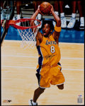 Basketball Collectibles:Photos, Kobe Bryant Signed Oversized Photograph. ...