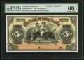 Canadian Currency, Kingston, Jamaica- The Bank of Nova Scotia £5 January 2, 1900 Ch. #550-38-02-06FP Face Proof.. ...