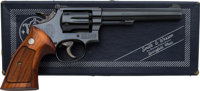 Boxed Smith & Wesson Model 17-4 Double Action Revolver
