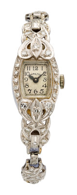 Hamilton Lady's Diamond, Platinum Watch