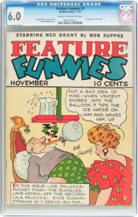 Feature Funnies #2 (Chesler, 1937) CGC FN 6.0 Cream to off-white pages