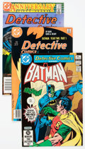 Modern Age (1980-Present):Superhero, Detective Comics Group of 57 (DC, 1978-88) Condition: AverageFN/VF.... (Total: 57 Comic Books)