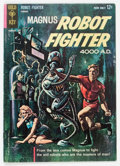 Silver Age (1956-1969):Science Fiction, Magnus Robot Fighter #1 (Gold Key, 1963) Condition: FN-....