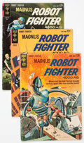 Silver Age (1956-1969):Science Fiction, Magnus Robot Fighter Group of 35 (Gold Key, 1963-75) Condition: Average VG.... (Total: 35 Comic Books)