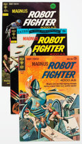 Silver Age (1956-1969):Science Fiction, Magnus Robot Fighter #3 and 34-39 File Copies Group (Gold Key, 1963-79) Condition: VF.... (Total: 7 Comic Books)