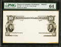 Large Size:Federal Proofs, Fr. 114-122 $10 1901 Legal Tender Face Proof Hessler 483 PMG Choice Uncirculated 64.. ...