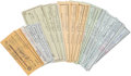 Golf Collectibles:Autographs, 1950's-80's Sam Snead Signed Personal Checks Lot of 100....