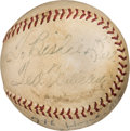 Baseball Collectibles:Balls, 1953 Ted Williams Signed Home Run #7 Baseball--Career #331, MEARS Authentic....