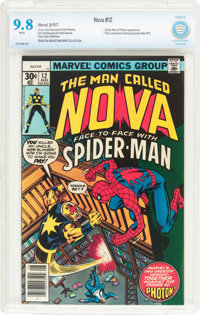 Nova #12 (Marvel, 1977) CBCS NM/MT 9.8 White pages