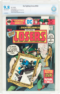Our Fighting Forces #164 (DC, 1976) CBCS NM/MT 9.8 Off-white to white pages