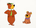 Animation Art:Production Cel, Yogi Bear and Boo Boo Production Cel Setup (Hanna-Barbera, c.1960s)....