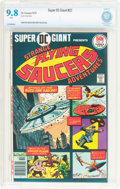Bronze Age (1970-1979):Science Fiction, Super DC Giant #27 Flying Saucers (DC, 1976) CBCS NM/MT 9.8 White pages....