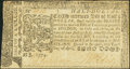 Colonial Notes, Maryland April 10, 1774 $1/2 Very Fine....