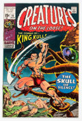 Bronze Age (1970-1979):Horror, Creatures on the Loose #10 (Marvel, 1971) Condition: NM-....