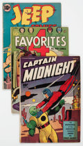 Golden Age (1938-1955):Miscellaneous, Comic Books - Assorted Golden Age Comics Group of 8 (Various Publishers, 1941-48).... (Total: 8 Comic Books)