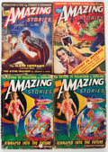 Pulps:Science Fiction, Amazing Stories Box Lot (Ziff-Davis, 1938-53) Condition: AverageGD.... (Total: 2 Box Lots)