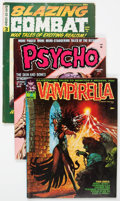Magazines:Horror, Assorted Horror and Sci-Fi Magazines Group (Various Publishers, 1960s-80s) Condition: Average VG....