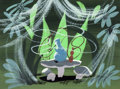 Animation Art:Concept Art, Mary Blair Alice in Wonderland Caterpillar Concept Painting(Walt Disney, 1951)....