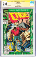 Modern Age (1980-Present):Superhero, Cage #5 Signature Series (Marvel, 1992) CGC NM/MT 9.8 White pages....
