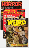 Magazines:Horror, Miscellaneous Magazines Horror Group (Various Publishers, 1959-71) Condition: FN.... (Total: 10 Comic Books)