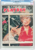 Magazines:Vintage, Playboy V2#12 (HMH Publishing, 1955) CGC VF+ 8.5 Off-white to white pages....