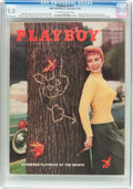 Magazines:Vintage, Playboy V2#11 (HMH Publishing, 1955) CGC VF/NM 9.0 Off-white to white pages....