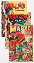 Golden Age (1938-1955):Miscellaneous, Comic Books - Assorted Golden Age Covers Group of 33 (Various Publishers, 1940s-50s) Condition: Incomplete, covers only.... (Total: 33 Comic Books)