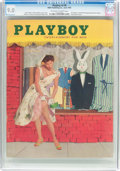 Magazines:Vintage, Playboy V2#6 (HMH Publishing, 1955) CGC VF/NM 9.0 Off-white to white pages....