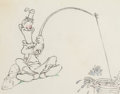 Animation Art:Production Drawing, Mother Goose Goes Hollywood Stan Laurel Animation Drawing(Walt Disney, 1938).. ...